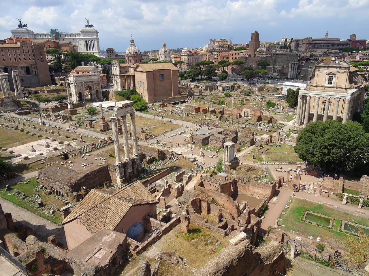 Blick ins alte Rom